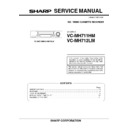 Sharp VC-MH711HM (serv.man3) Service Manual