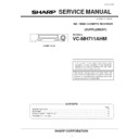 Sharp VC-MH711HM (serv.man8) Service Manual