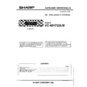 Sharp VC-MH722HM (serv.man2) Service Manual