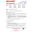 Sharp VC-MH722HM (serv.man32) Technical Bulletin