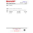 Sharp VC-MH722HM (serv.man33) Technical Bulletin