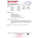 Sharp VC-MH722HM (serv.man34) Technical Bulletin