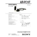 air-pc10t service manual