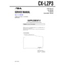 Sony AWP-ZP3, CX-LZP3 (serv.man3) Service Manual