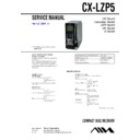 Sony AWP-ZP5, CX-LZP5 Service Manual