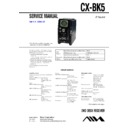 bmz-k5d, cx-bk5 service manual