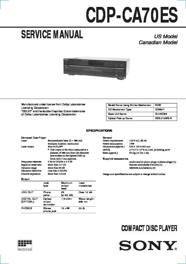 Hcd mc1 Manual