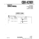 CDX-A2001 Service Manual