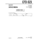 CFD-S23 (serv.man5) Service Manual