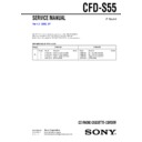 cfd-s55 service manual