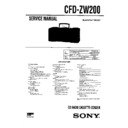 cfd-zw200 service manual