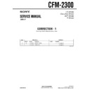 cfm-2300 (serv.man2) service manual