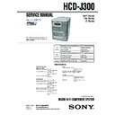 CMT-DC500MD, HCD-J300 Service Manual