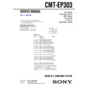 CMT-EP303 Service Manual