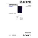 CMT-EX200, SS-CEX200 Service Manual