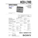CMT-L7HD, HCD-L7HD Service Manual