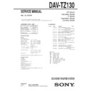 dav-tz130 (serv.man2) service manual