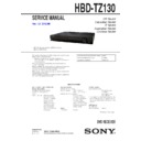 Sony DAV-TZ130 Service Manual
