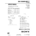 Sony DHC-EX880MD, DHC-MD717 Service Manual