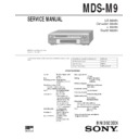 Sony DHC-MD7, MDS-M9 Service Manual