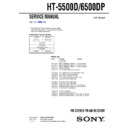 HT-5500D, HT-6500DP Service Manual