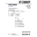 HT-C800DP Service Manual