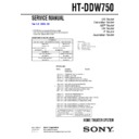 HT-DDW750 Service Manual