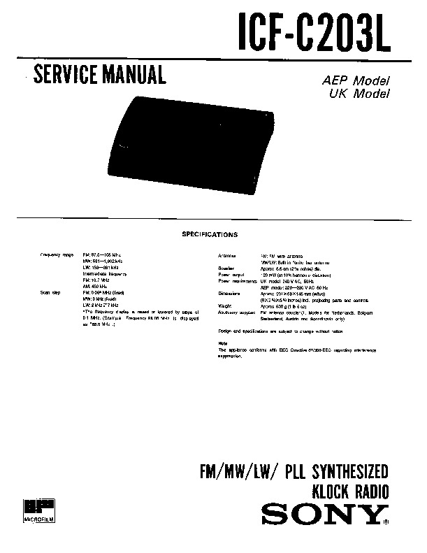 sony icf c203 service manual free download rh servicemanuals us Nokia C2 -00 Nokia X6
