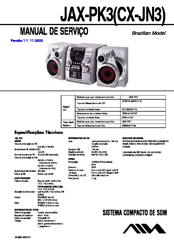 989020201 sony jax n3, jax pk3, sx jn3 service manual free download pk3 wiring diagram at eliteediting.co