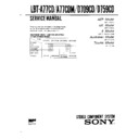 lbt-a77cd, lbt-a77cdm, lbt-d709cd, lbt-d759cd service manual