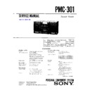 Sony PMC-301 (serv.man2) Service Manual
