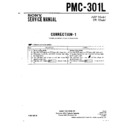 Sony PMC-301L (serv.man2) Service Manual