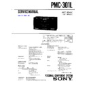 Sony PMC-301L Service Manual