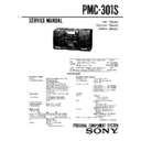 Sony PMC-301S (serv.man2) Service Manual