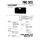 Sony PMC-301S (serv.man3) Service Manual