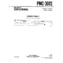 Sony PMC-301S (serv.man6) Service Manual