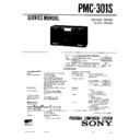 Sony PMC-301S Service Manual