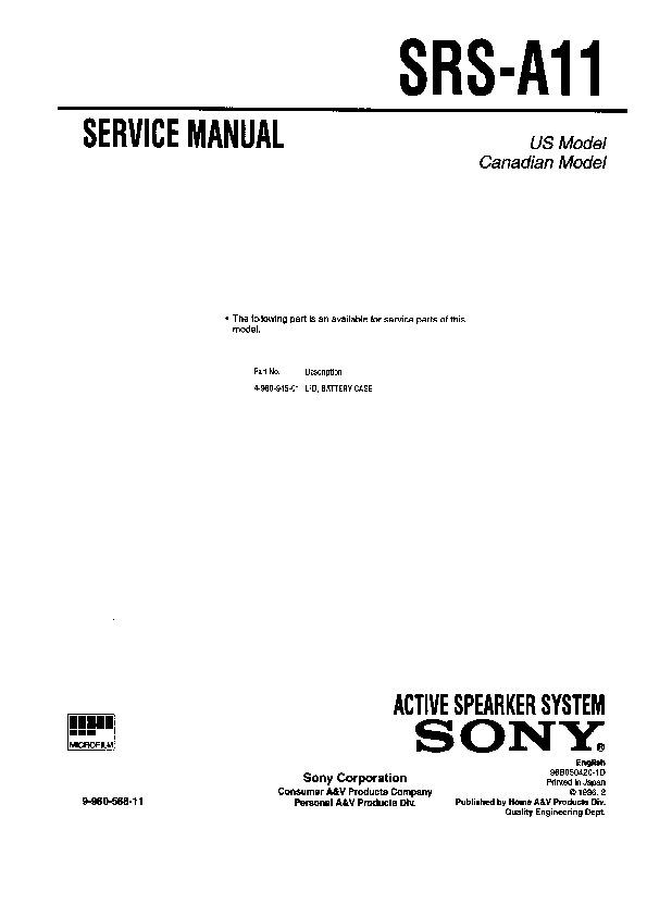 sony srs x2 manual pdf