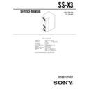 ss-x3 (serv.man2) service manual