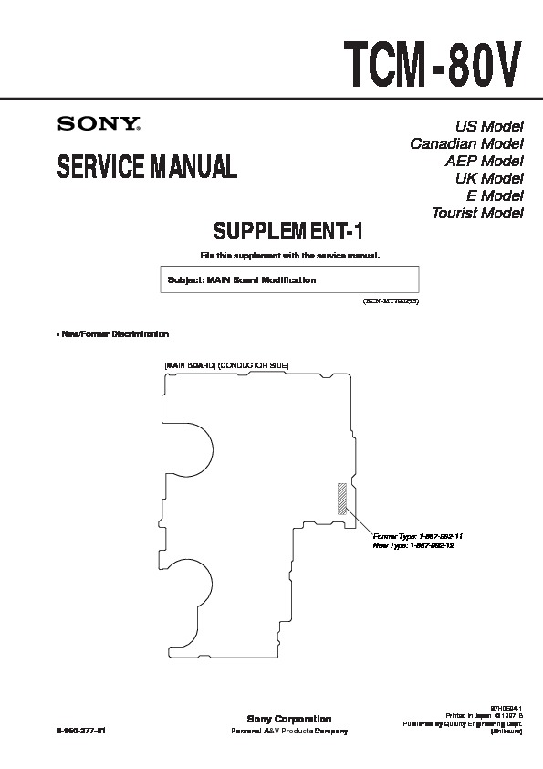 sony service manuals in pdf