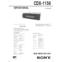 sony cdx 1150 serv man2 service manual free download rh servicemanuals us