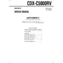 CDX-C5000RV (serv.man3) Service Manual
