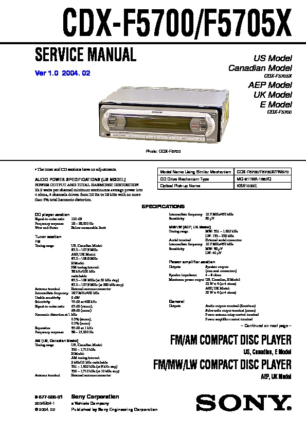 987760601 sony cdx f5700, cdx f5700x, cdx fw570 service manual free download sony cdx fw570 wiring diagram at readyjetset.co