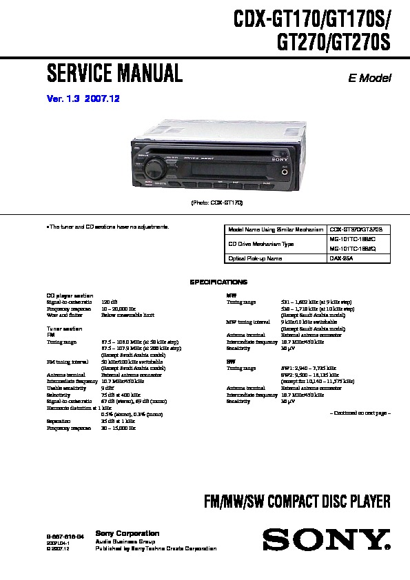 sony cdx gt270mp wiring diagram  wiring site resource