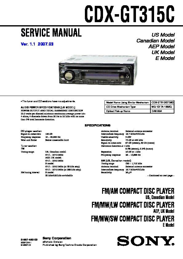sony auto cd player wiring diagram facbooik com Sony Cd Wiring Diagram sony cdx gt330 wiring diagram facbooik sony cd player wiring diagram