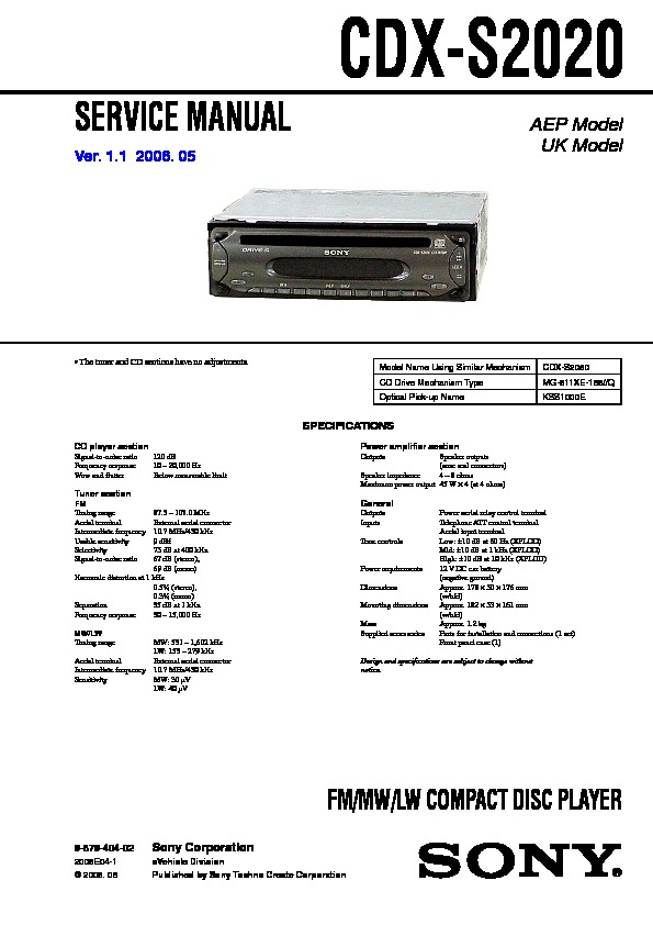 987940402 sony cdx sw200 wiring diagram wiring diagrams sony xplod cdx sw200 wiring diagram at gsmportal.co