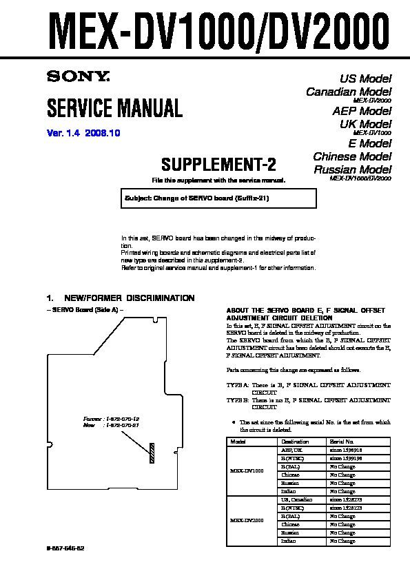 sony car audio service manuals page 49 rh servicemanuals us Sony Xplod Deck Wiring-Diagram Sony Xplod 52Wx4 Wiring-Diagram