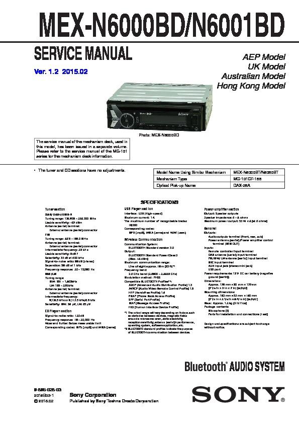 989602803 sony mex n6000bd, mex n6001bd service manual free download sony mex-r1 wiring diagram at creativeand.co