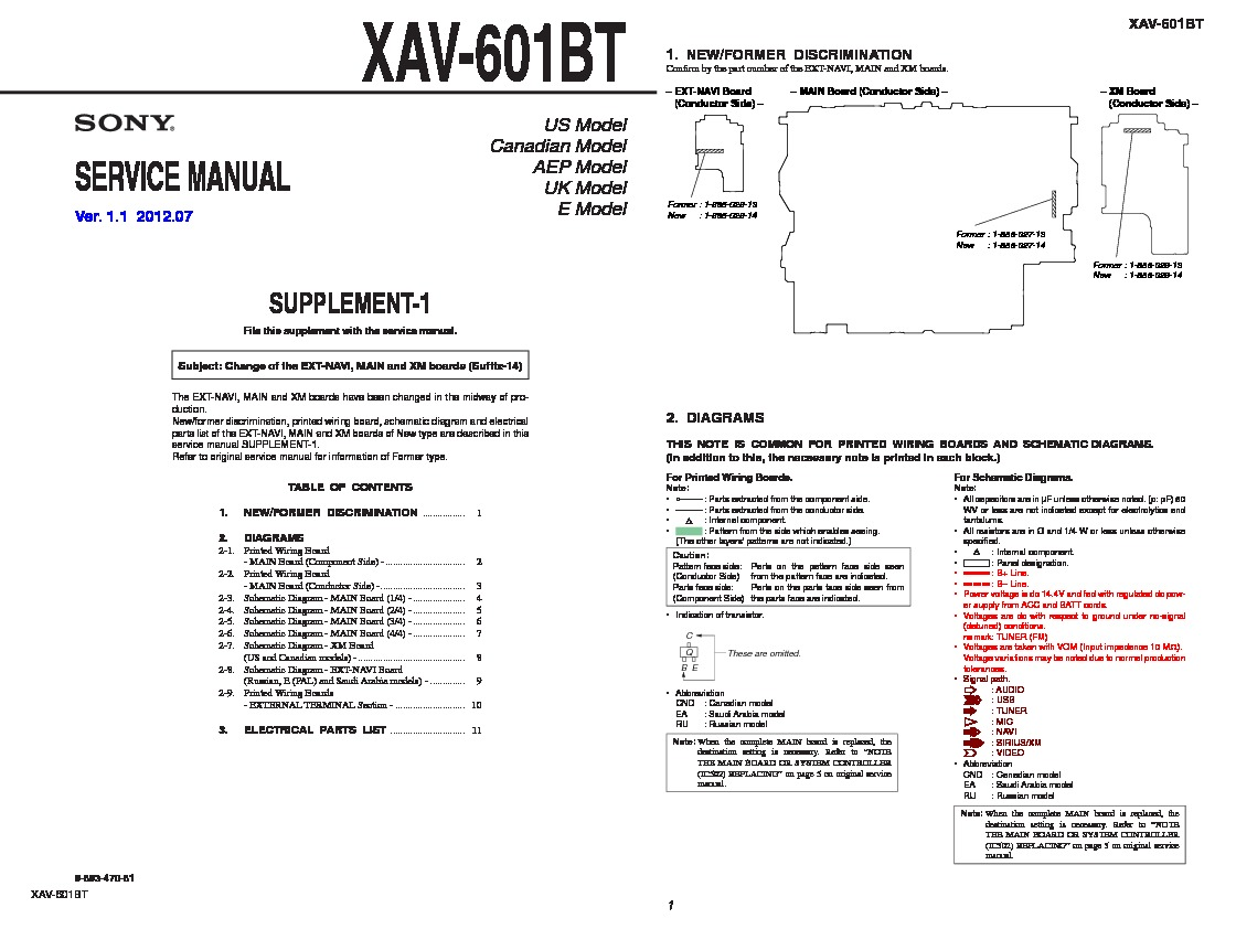 Sony Xav 60 E60 Service Manual Free Download Wiring Harness Replacement 601bt Servman2