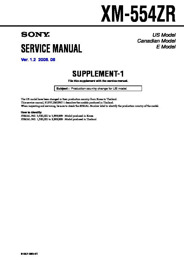 sony xm 554zr serv man2 service manual free download rh servicemanuals us Sony Xplod Wiring-Diagram Sony Xplod Wiring Harness